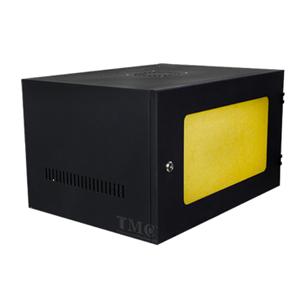 Tủ Rack 6U D400 Giá Rẻ, Cửa Mica, Màu Đen