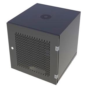 Tủ Rack 12U D600 Giá Rẻ Cửa Lưới Màu Đen