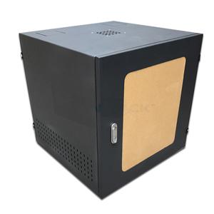 Tủ Mạng Tủ Rack 10U D500 Giá Rẻ Màu Đen Cửa Mica