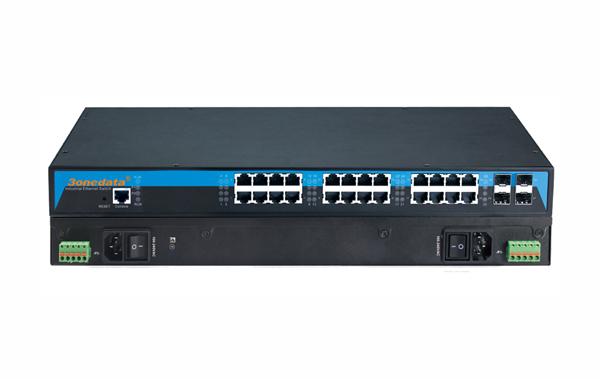 ICS5028G-4TS Layer 3 24 cổng Gigabit Ethernet + 4 cổng 10Gb SFP