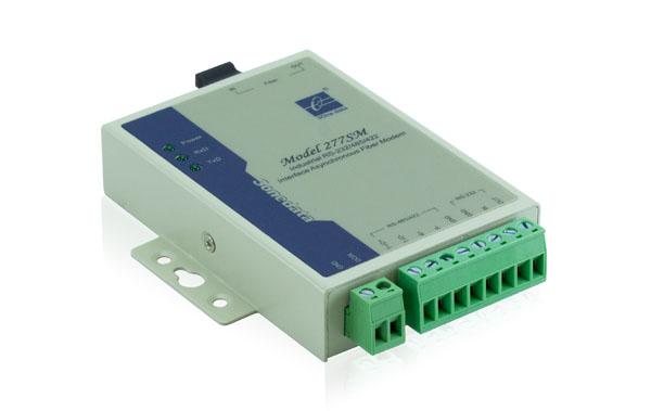 Bộ chuyển đổi quang điện 1 cổng RS-232/485/422 sang Quang MODEL277