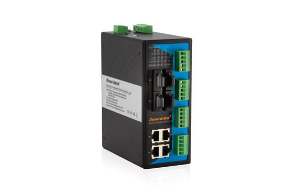 Switch Công Nghiệp 4 Cổng Ethetnet + 4 Cổng Quang + 4 Cổng RS485/422 IES618-4F-4D(RS-485)