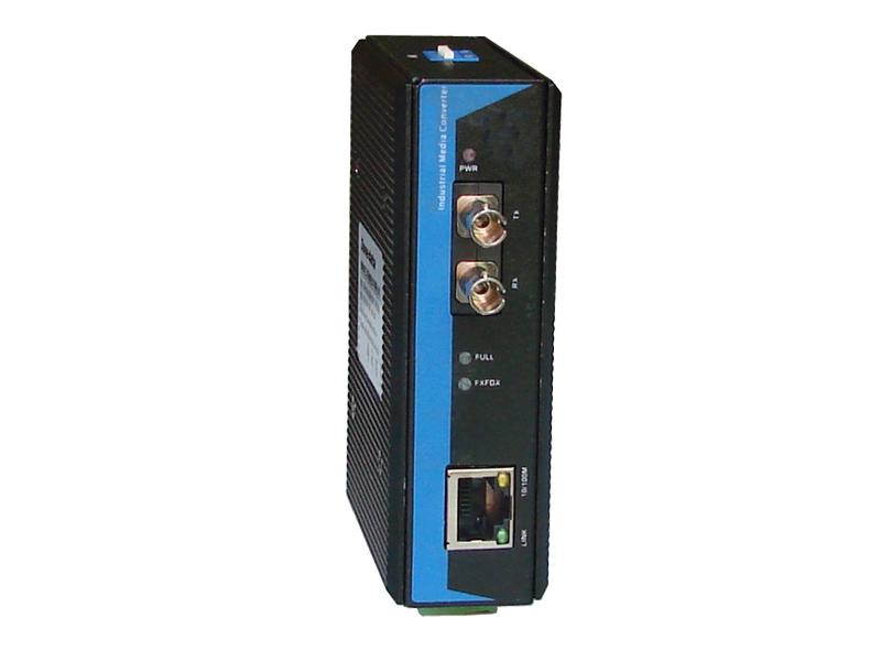 Bộ Chuyển Đổi Quang Điện Công Nghiệp 1 Cổng Quang + 1 Cổng Ethernet IMC101-F