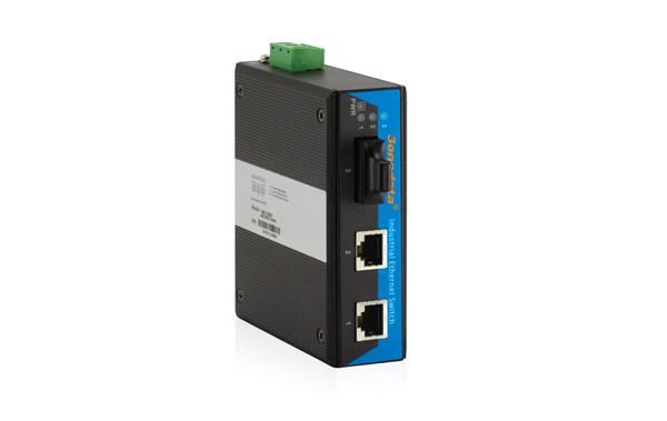 Bộ Chuyển Đổi Quang Điện Công Nghiệp 1 Cổng Quang + 2 Cổng Ethernet IMC102B
