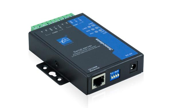 Bộ chuyển đổi 2 cổng RS-485/422 sang Ethernet NP302T-2D(RS-485)