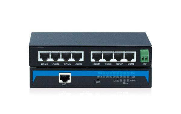 Bộ chuyển đổi 8 cổng RS-232 sang Ethernet NP308T-8D(RS-232)