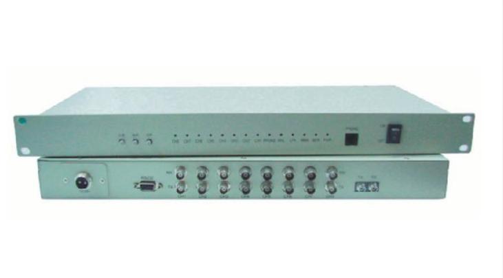 Bộ chuyển đổi 8 kênh E1 PHD sang quang OT240