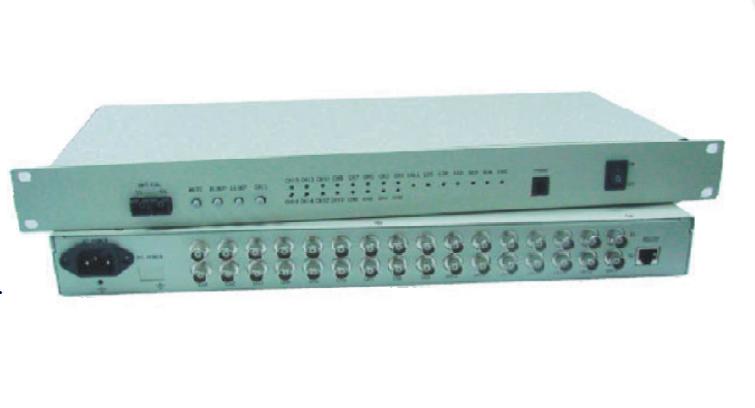 Bộ chuyển đổi 16 kênh E1 + Ethernet PHD sang quang OT480A