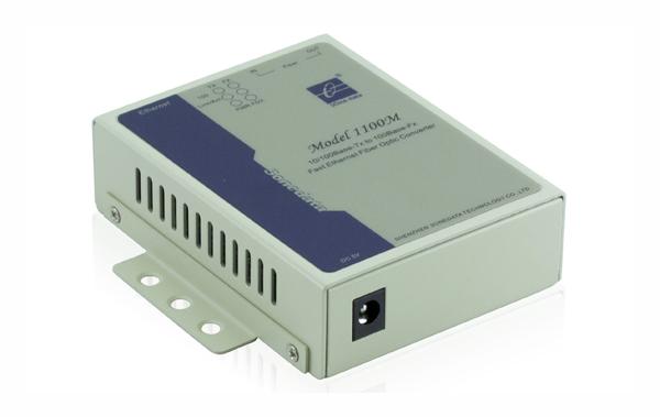 Bộ chuyển đổi quang điện 1 cổng Ethernet sang quang Model1100M