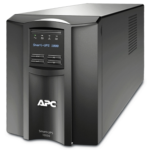 APC Smart-UPS 1000VA, Tower, LCD 230V with SmartConnect Port