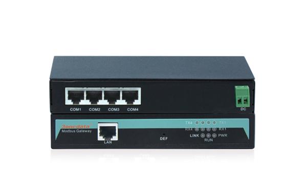 Bộ chuyển đổi 4 cổng RS-232 sang Ethernet Modbus Gateway GW1104-4D(RS-232)