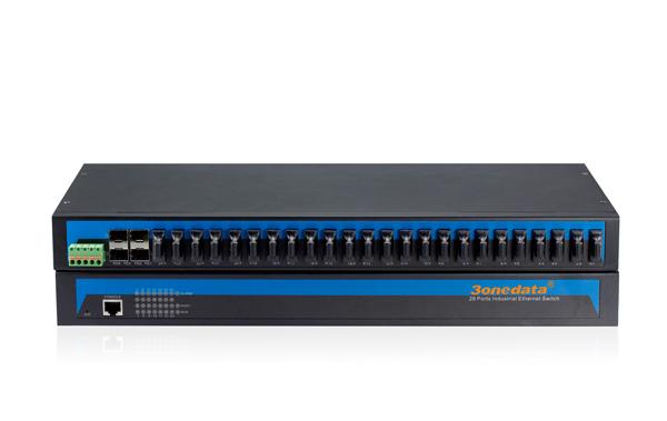 IES1028-4GS-24F 24 cổng quang + 4 cổng quang SFP
