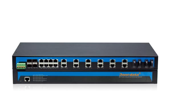 SFP IES1028-4GS-4F 20 cổng Ethernet + 4 cổng quang + 4 cổng quang