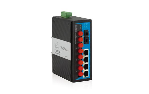 Switch công nghiệp 4 cổng Ethernet+2 cổng quang+2 cổng quang SFP IES2010-2GS-4F