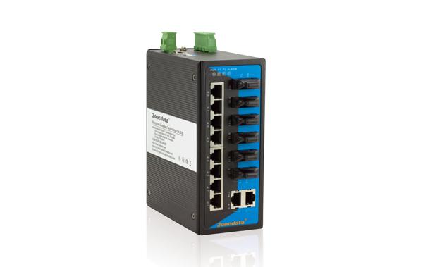 Switch công nghiệp 10 cổng Ethernet + 6 cổng quang IES3016-6F