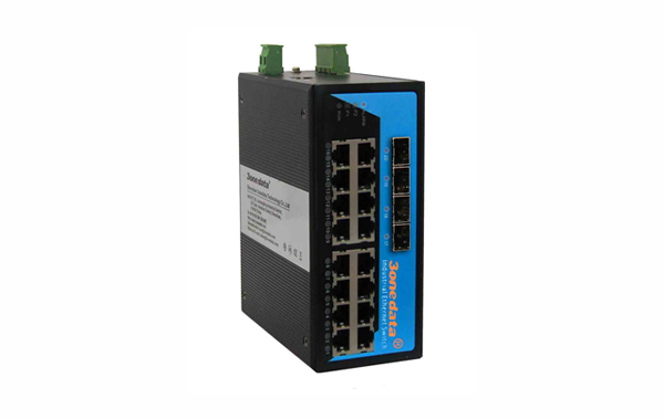 Switch công nghiệp 16 cổng Gigabit Ethernet + 4 cổng SFP IES3020G-4GS
