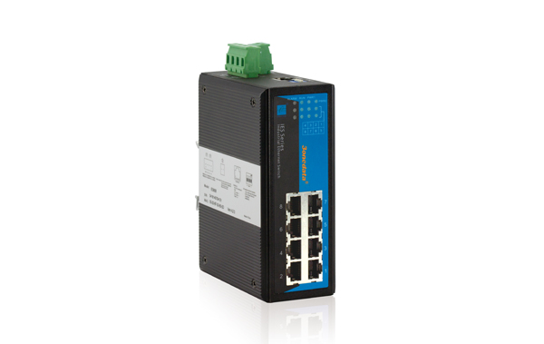Switch công nghiệp 8 cổng Ethernet IES308