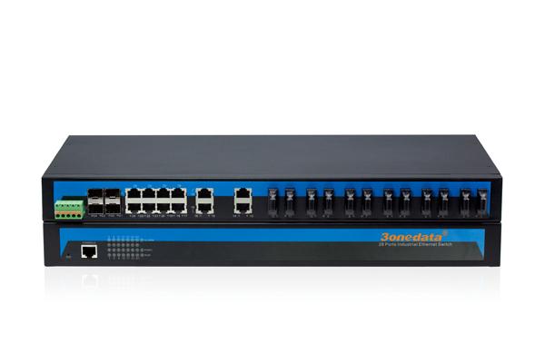 IES5028-4GS-12F 12 cổng quang + 12 cổng Ethernet + 4 cổng quang SFP