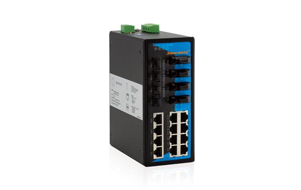 IES7120-4GS-4F 12 cổng Ethernet + 4 cổng quang + 4 cổng quang SFP