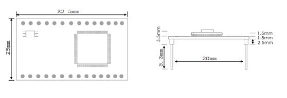 Module chuyển đổi cổng RS232 sang Ethernet NPM301