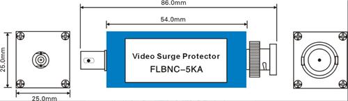 Thiết bị cắt sét đường Video FL-BNC