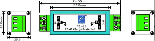 Thiết bị cắt sét RS-485 FL485