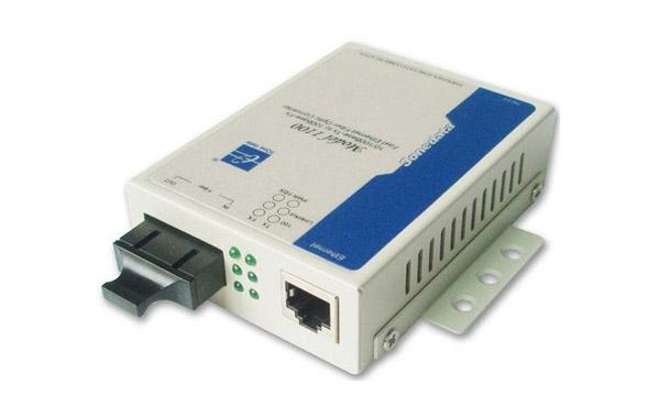 Bộ chuyển đổi quang điện 1 cổng Ethernet + 1 cổng quang MODEL1100
