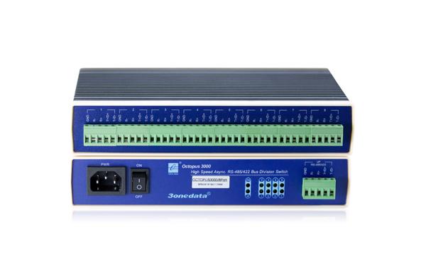 Bộ chuyển đổi 1 cổng RS-232/485/422 sang 8 cổng RS-485/422 HUB Octopus3000