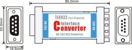 Bộ chuyển đổi Port-powered RS-232 sang RS-422 TLC422